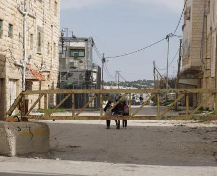 Hebron monitors: aid organisations raise the alarm at increased risks to civilians