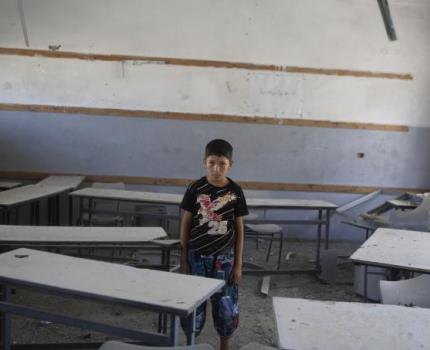 Gaza school year hit by resumption in hostilities