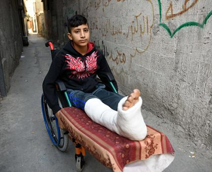 GAZA PROTESTS: FUTURES OF NEARLY 1,000 CHILDREN SHOT BY LIVE AMMUNITION HANG IN THE BALANCE AMID STRAINED HEALTH SYSTEM